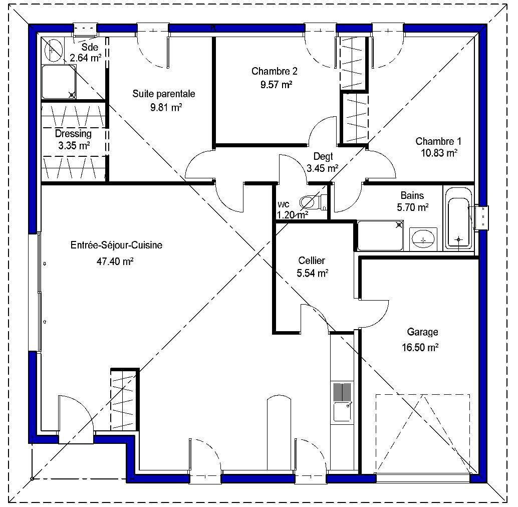plan type maison fabulous telecharger plan maison bbc rdj. Black Bedroom Furniture Sets. Home Design Ideas
