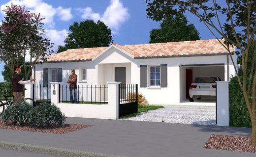 Mod les de maisons maisons lara for Construction maison 80m2