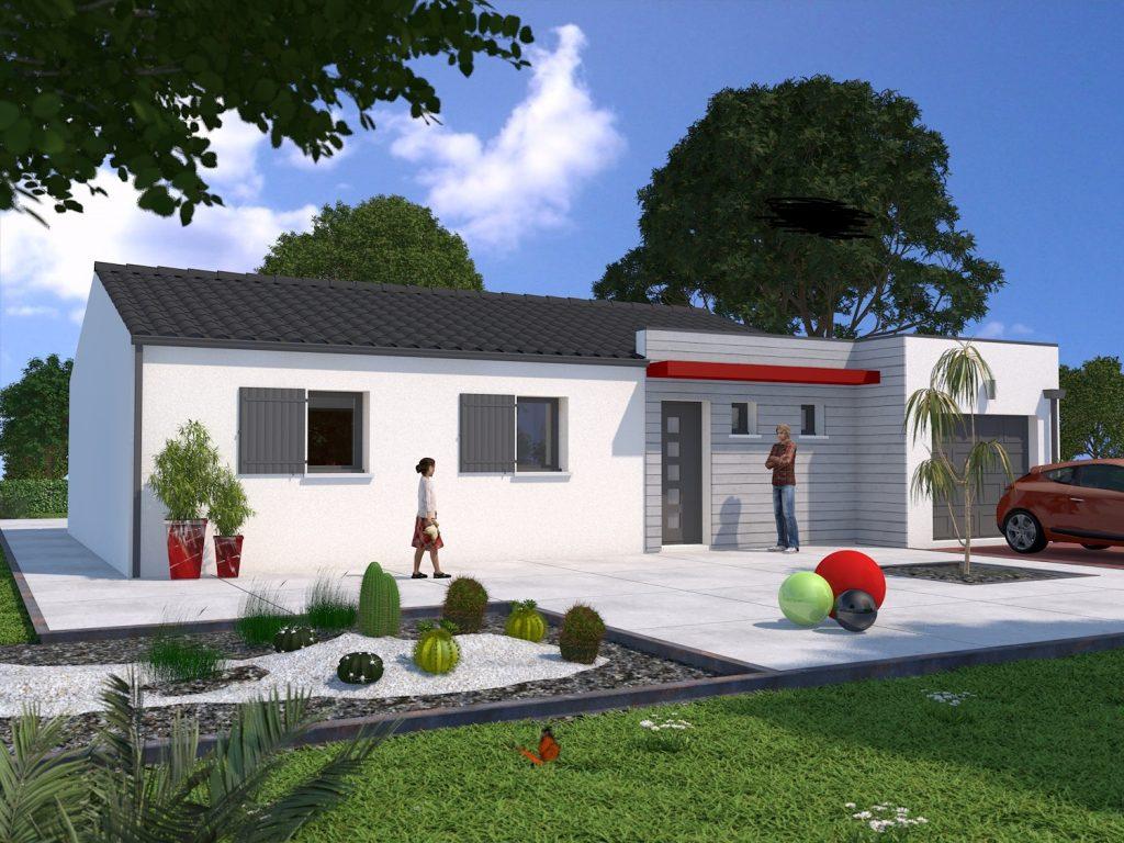 Votre maison de r ve avec ses 3 chambres et son garage sur for Modele maison gironde