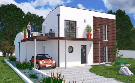 Perspective D Une Villa : Modèles de maisons lara