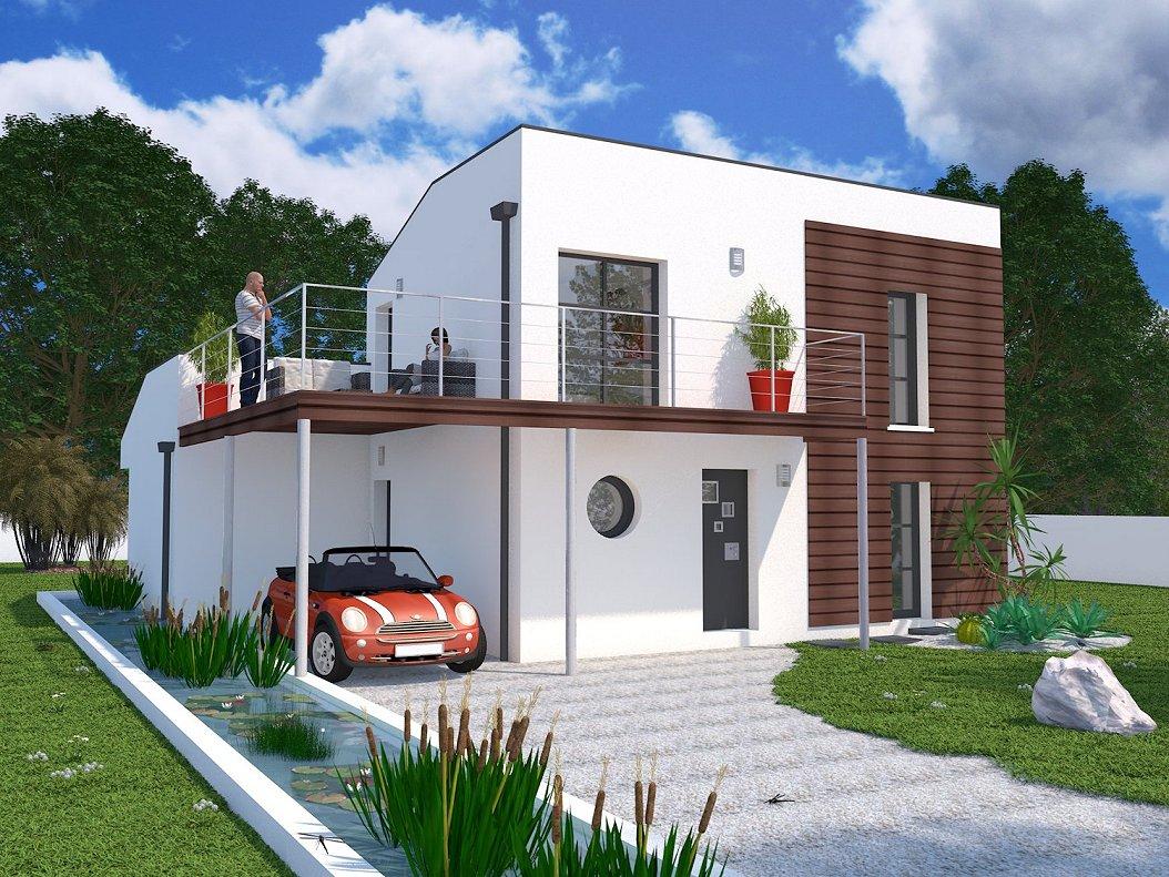 Leana 1 maisons lara for Constructeur maison individuelle 17000