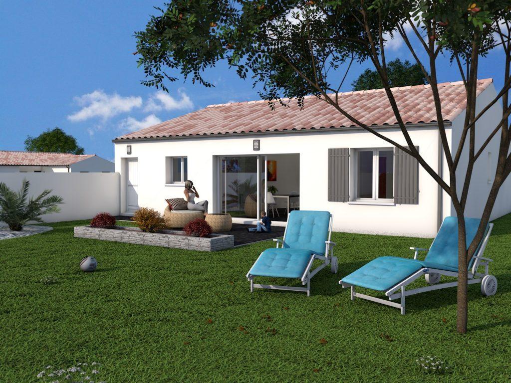 aigrefeuille maison de trois chambres plus garage euros ref dd maisons lara. Black Bedroom Furniture Sets. Home Design Ideas