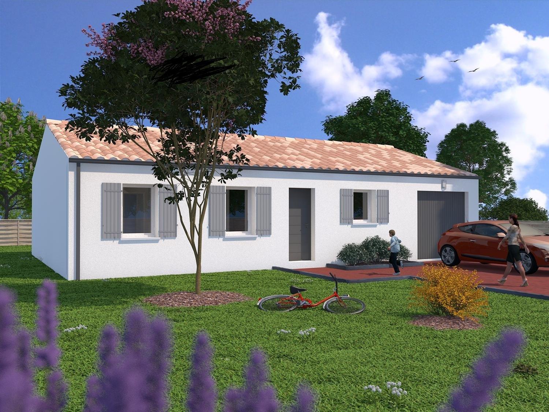 Saint georges du bois maison 3 chambres ref jmc maisons lara for Terrain maison