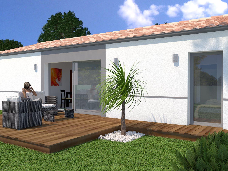 projet cl en main st augustin terrain maison 188 000 fs maisons lara. Black Bedroom Furniture Sets. Home Design Ideas