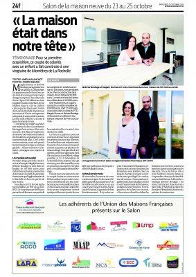 Reportage M BORDAGE & MME dumas 21.10.15