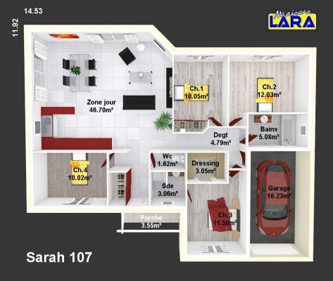 SARAH 107
