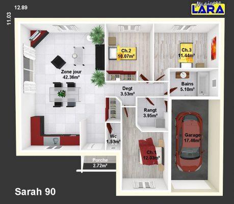 SARAH 90