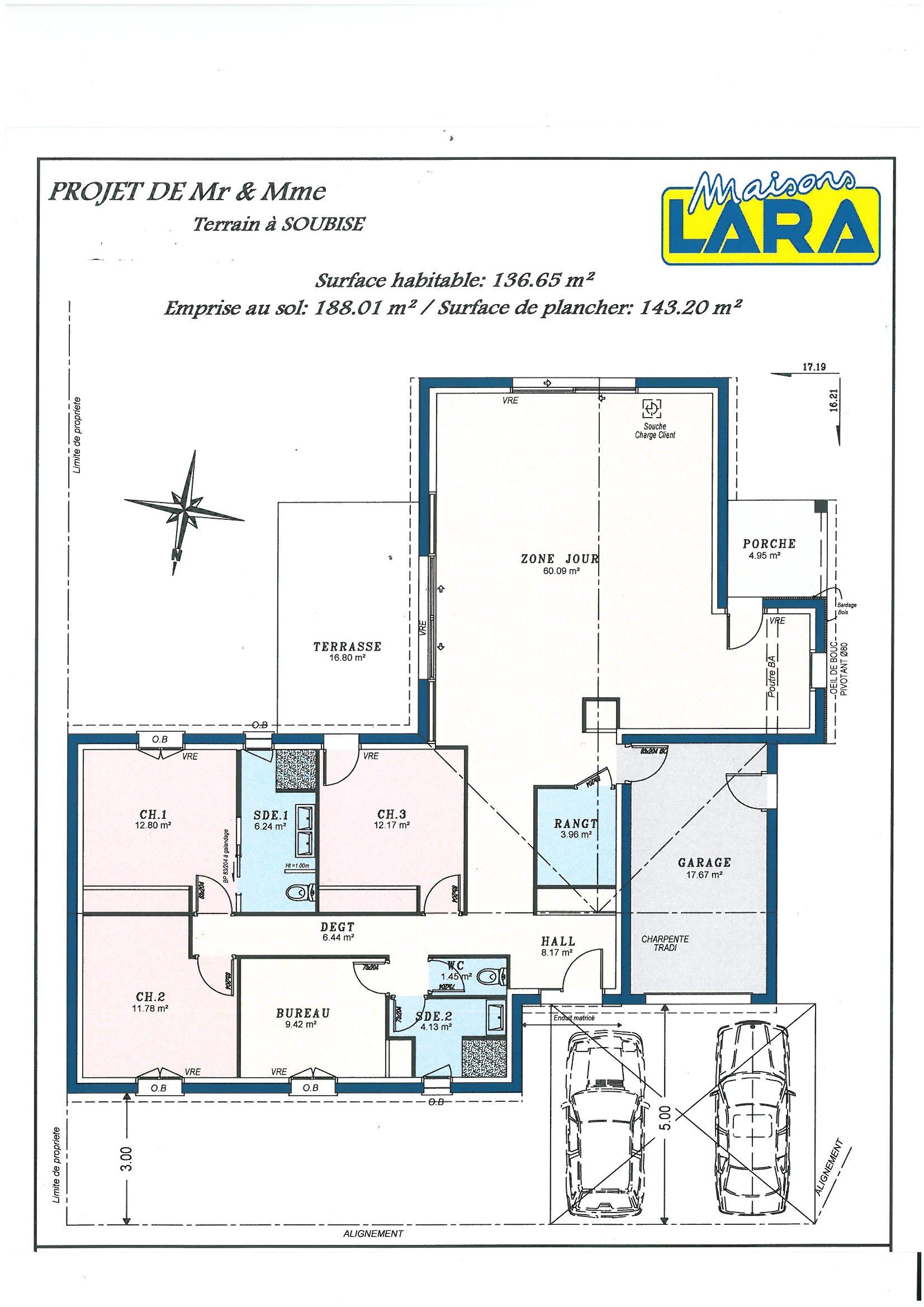 #BEC00B Vide Sanitaire Maison Plain Pied Images 3109 plan suite parentale en l 1653x2338 px @ aertt.com