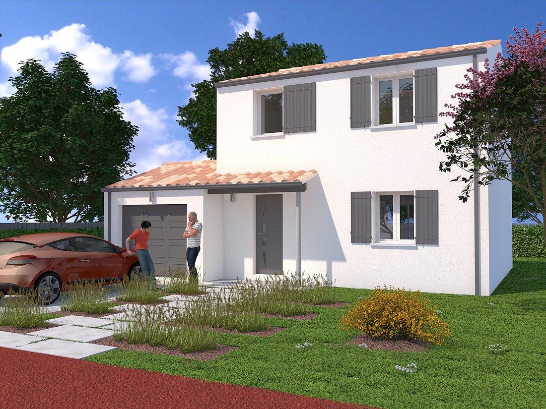 Plan maison 80m2 2 chambres 2 plan de maison gratuit de plain pied 4 pices 3 chambres 80m2 ma for Ma maison en 3d gratuit