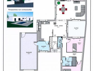 Terrains maisons maisons lara for Plan de maison sur terrain de 400m2