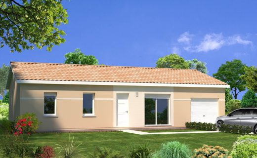 Prix maison toit plat 100m2 great hd wallpapers plan for Prix maison 80m2 avec garage