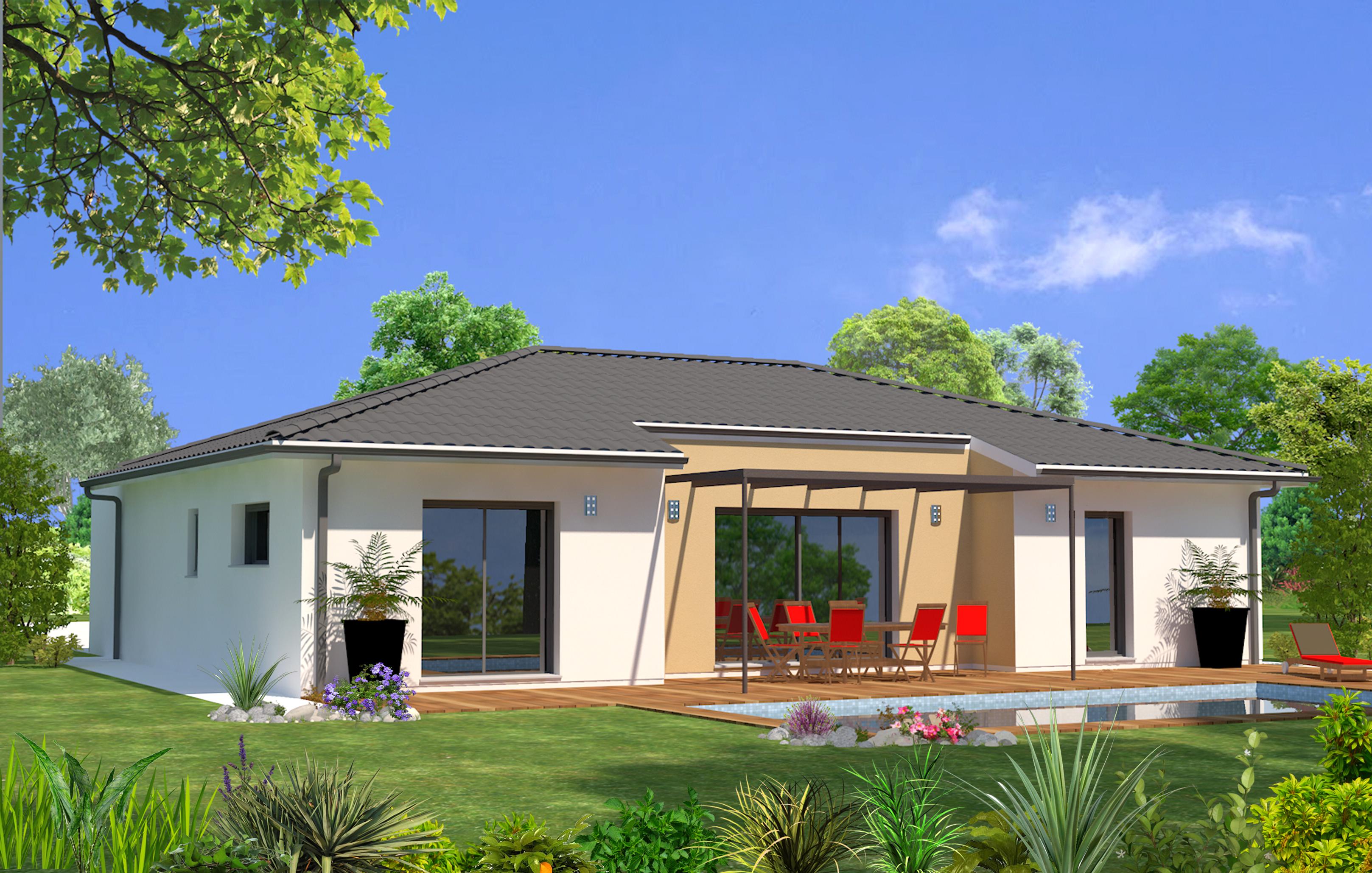 Maeva 33 maisons lara for Modele maison 5 chambres