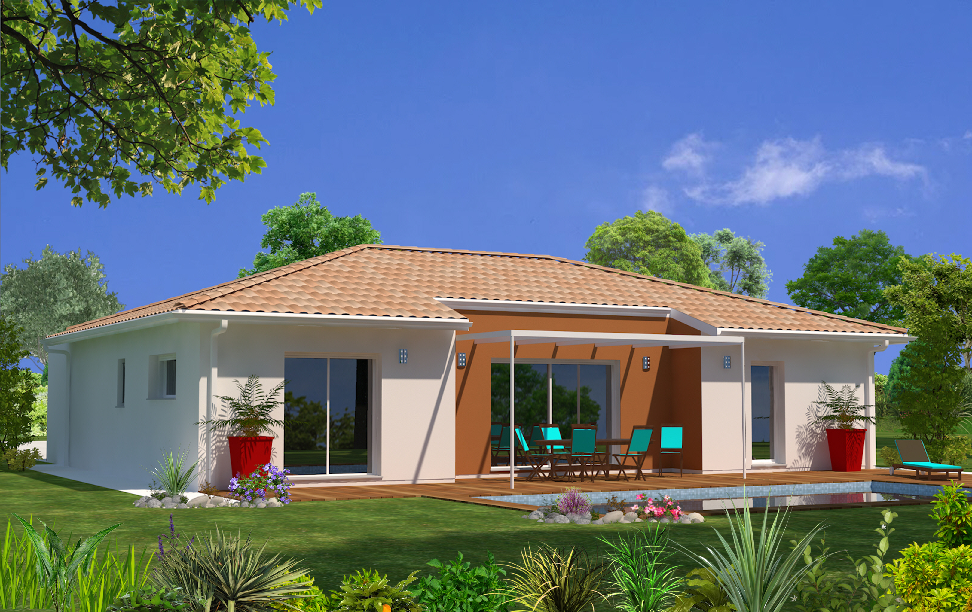 Maeva 33 maisons lara for Modele maison 3 chambres