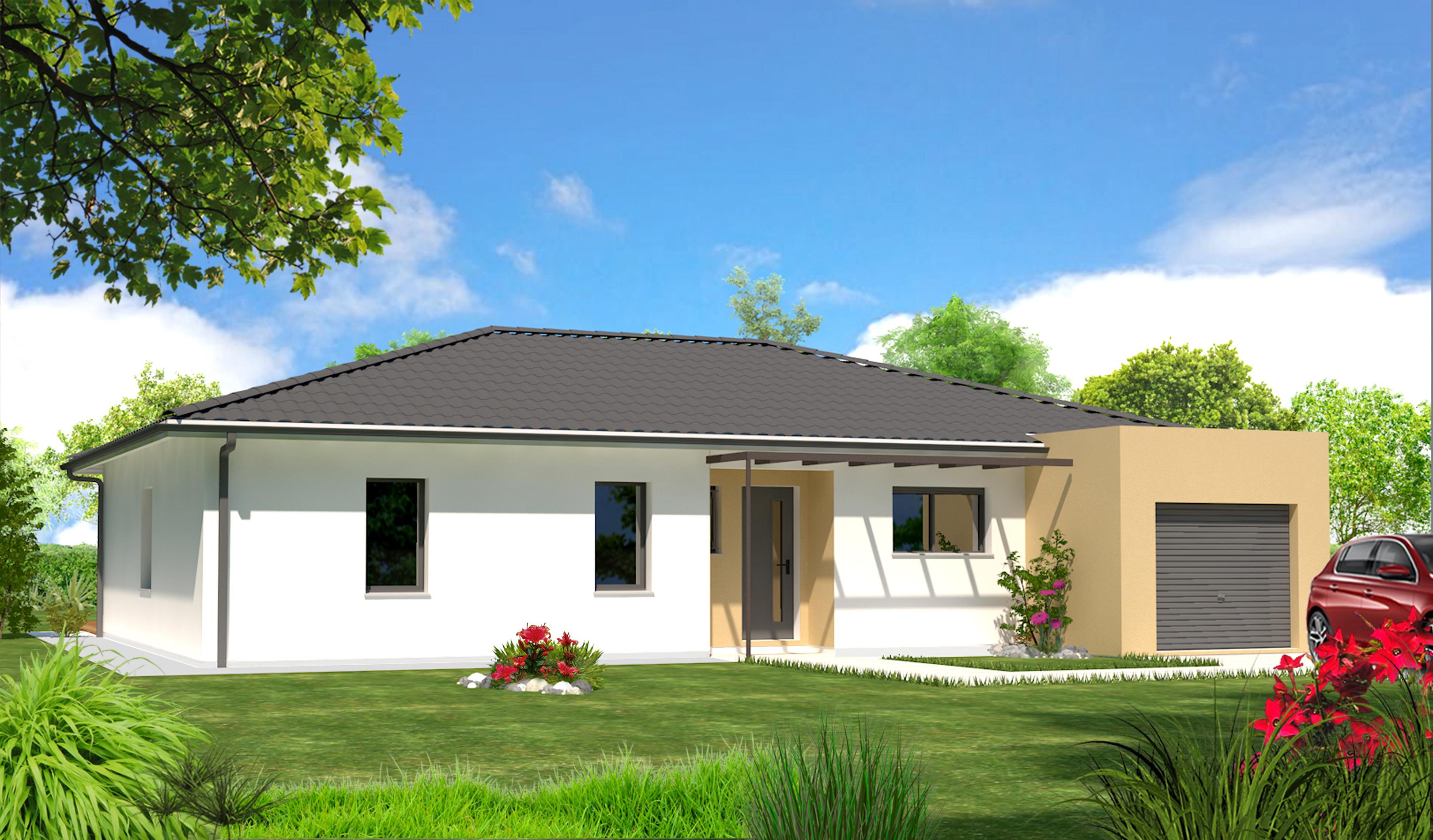 Maeva 33 maisons lara for Maison contemporaine toit terrasse