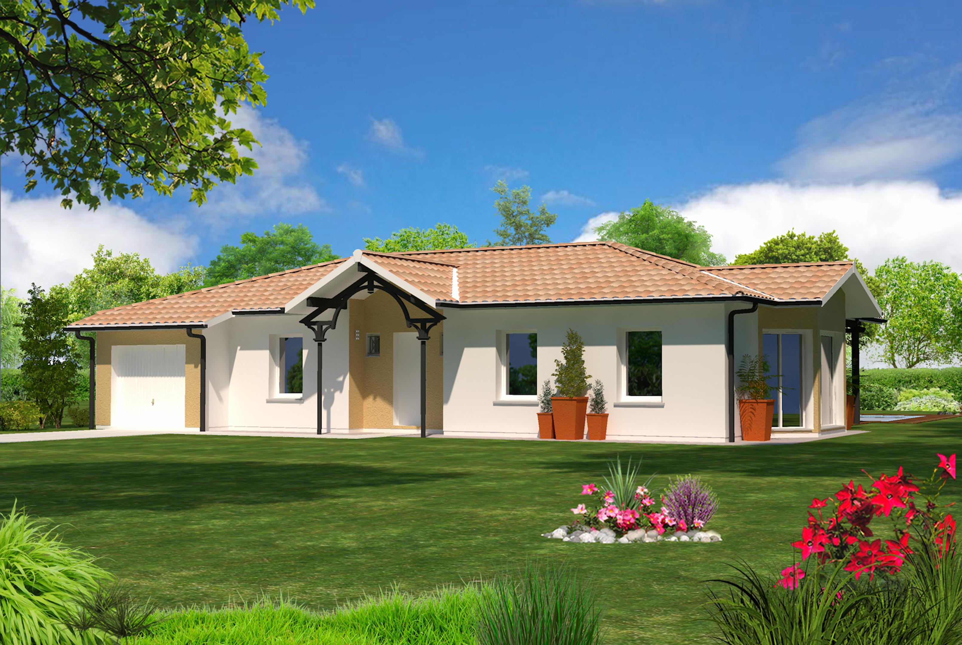 Christina maisons lara for Modele maison 50 m2