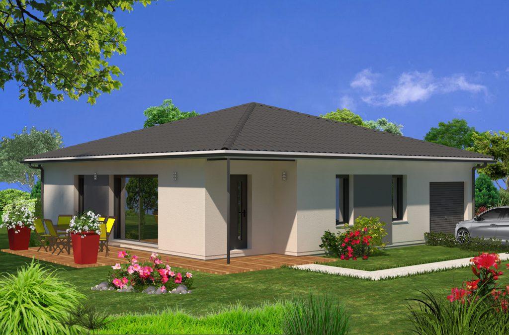 maison saucats jp maisons lara. Black Bedroom Furniture Sets. Home Design Ideas