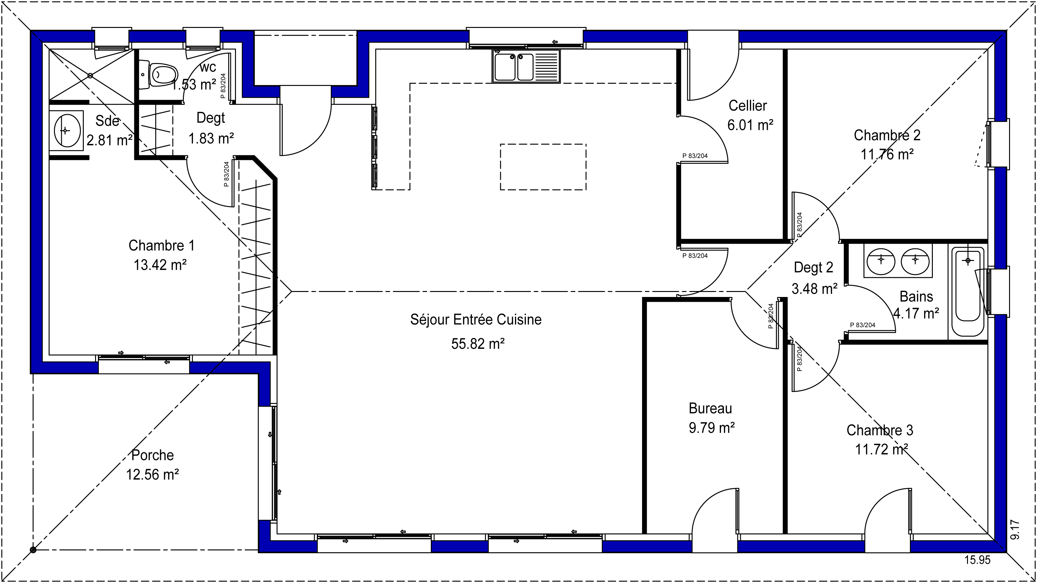 Adelina 33 maisons lara for 100 plans de maison