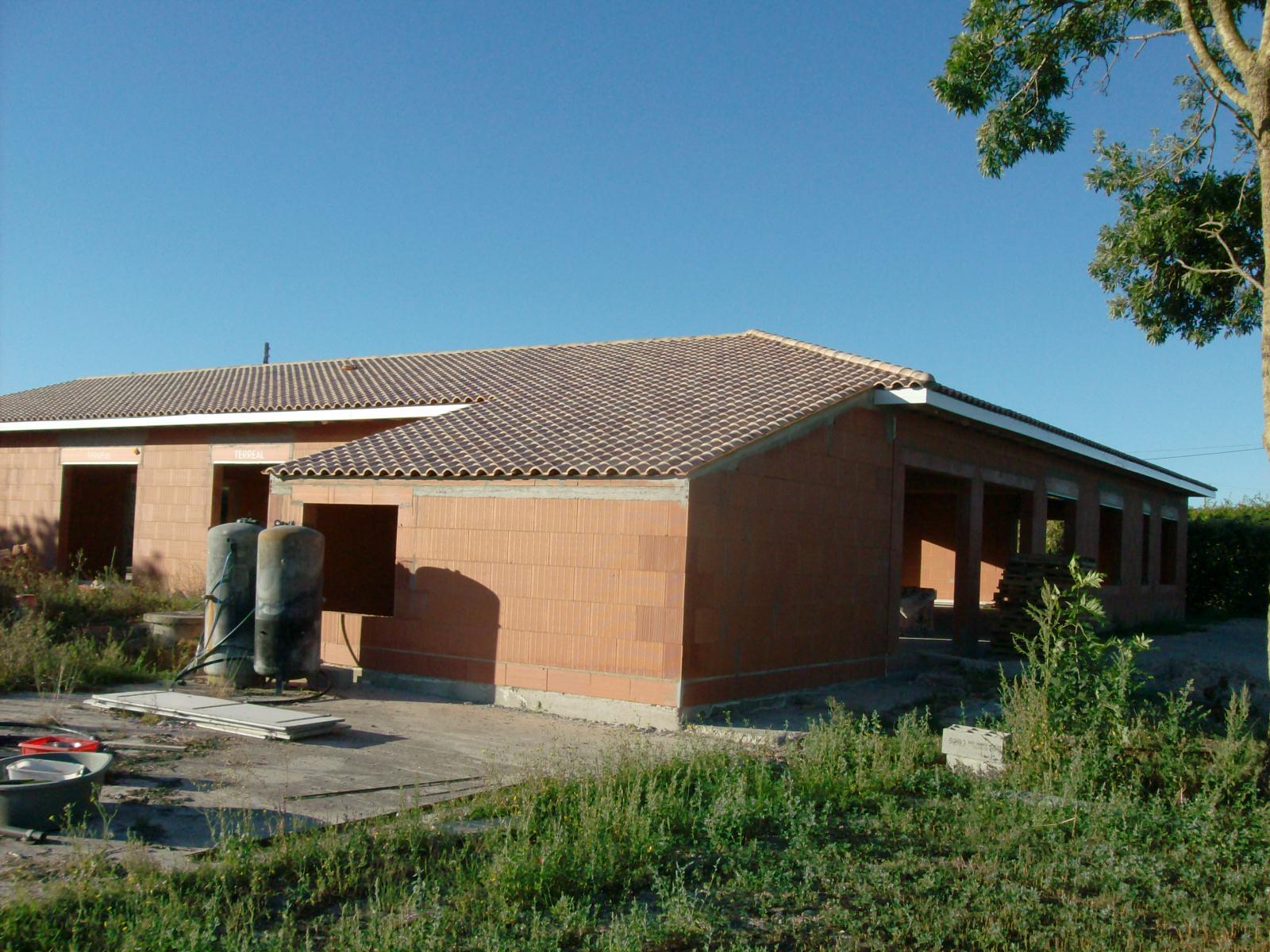 Chantier couteau 002 maisons lara for Constructeur maison individuelle 17000
