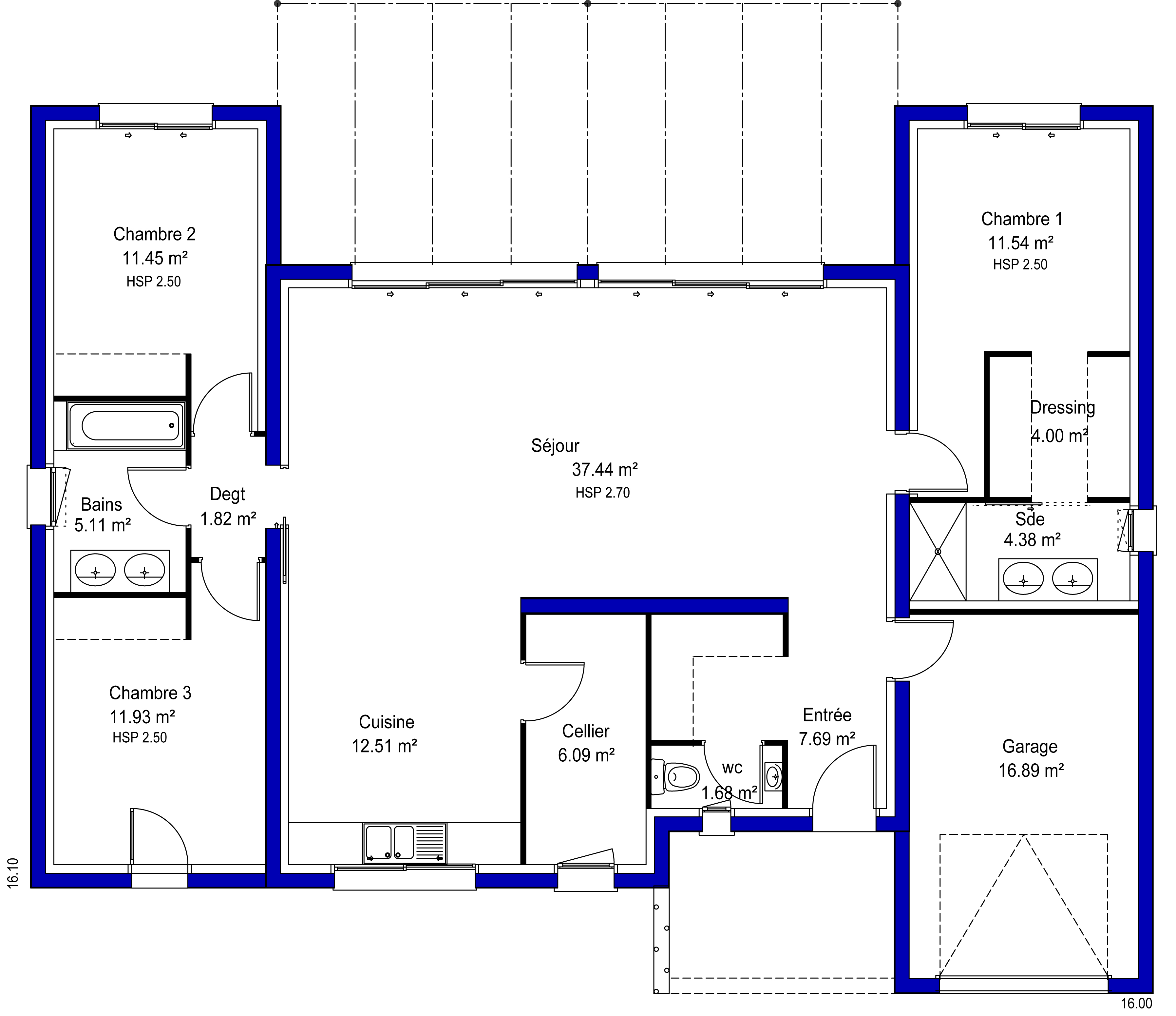 Plan de maison original perfect modele devis creation sdb - Plan de maison original ...