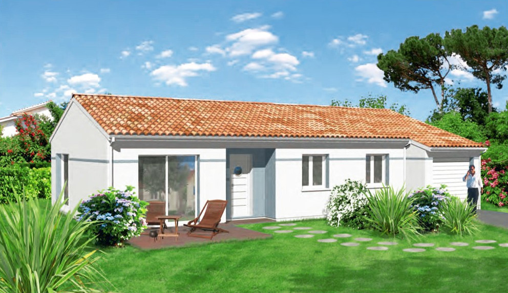 Glycine maisons lara for Plan de maison de 90m2