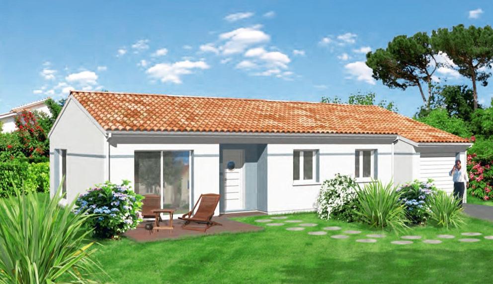 Glycine maisons lara - Plan de maison rectangulaire ...