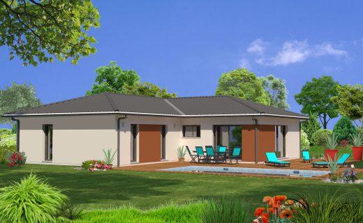 Mod les de maisons maisons lara for Prix maison 80m2 avec garage