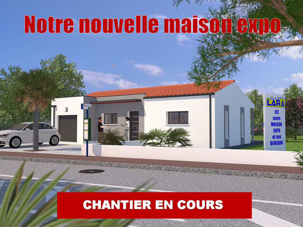 Publi reportage maison expo royan jade maisons lara for Constructeur maison contemporaine charente