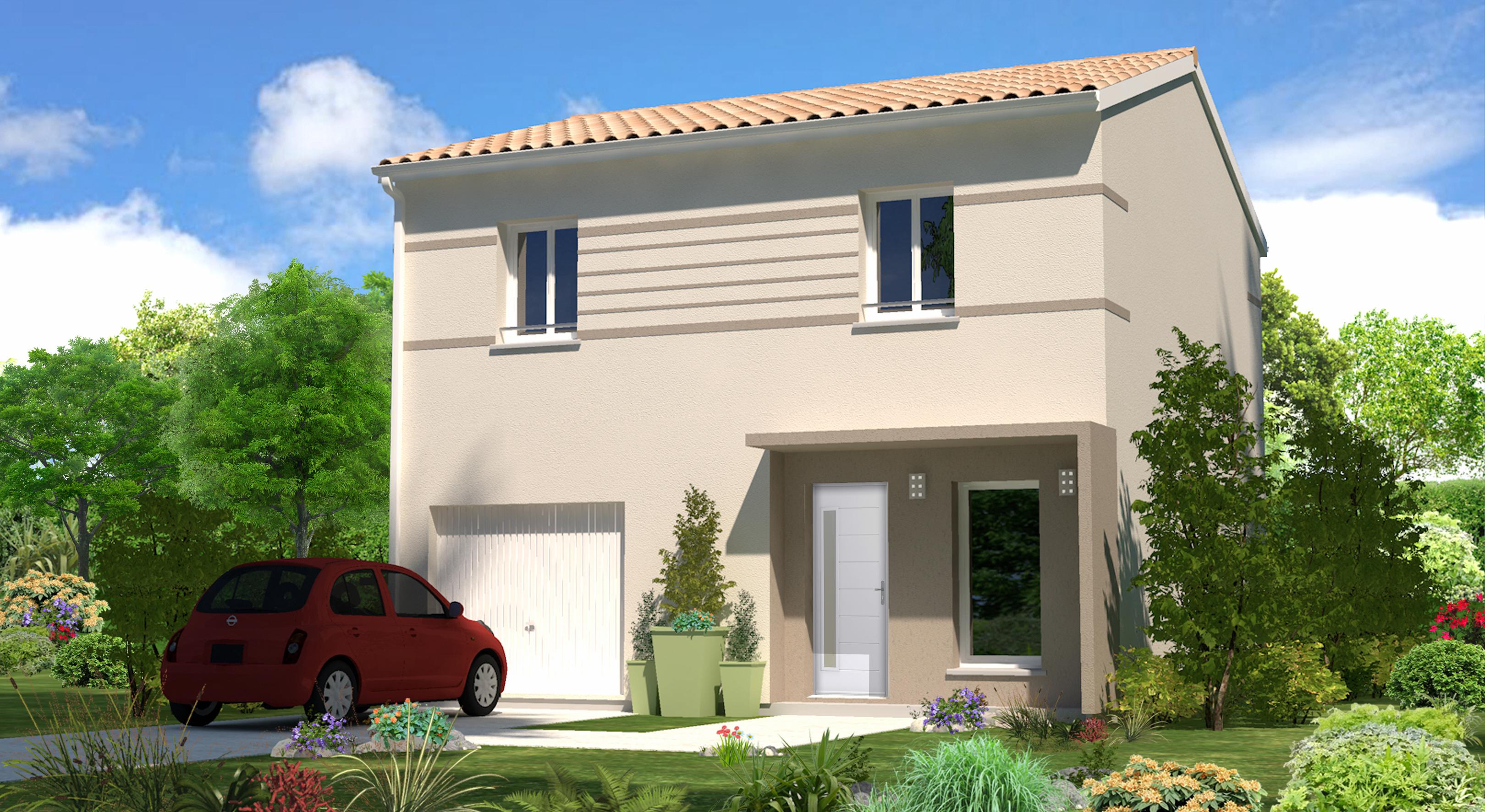 Monica maisons lara for Modele de facade de maison