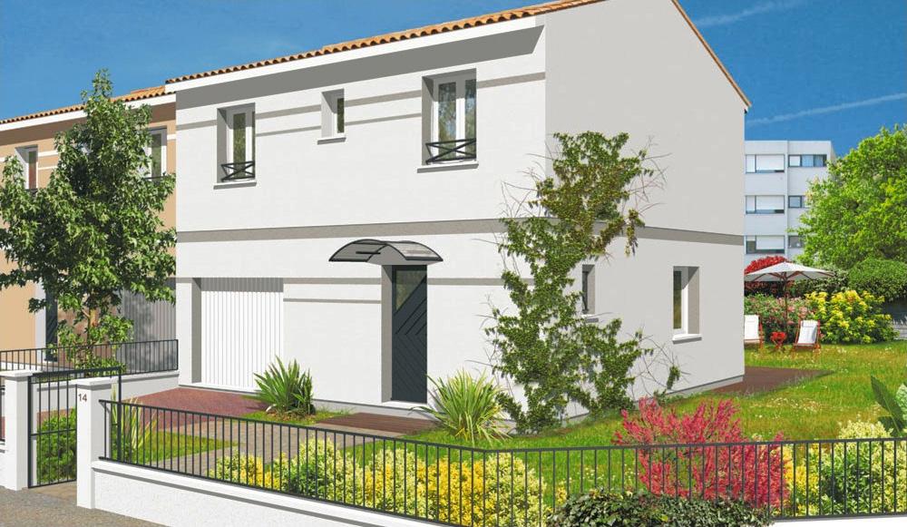 st medard en jalles terrain de 400m2 modele monica 90m2 With piscine municipale st medard en jalles 2 terrains maisons maisons lara