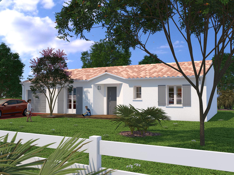 Bourgneuf Maison 90 M2 Habitables Sur Terrain De 596 M2
