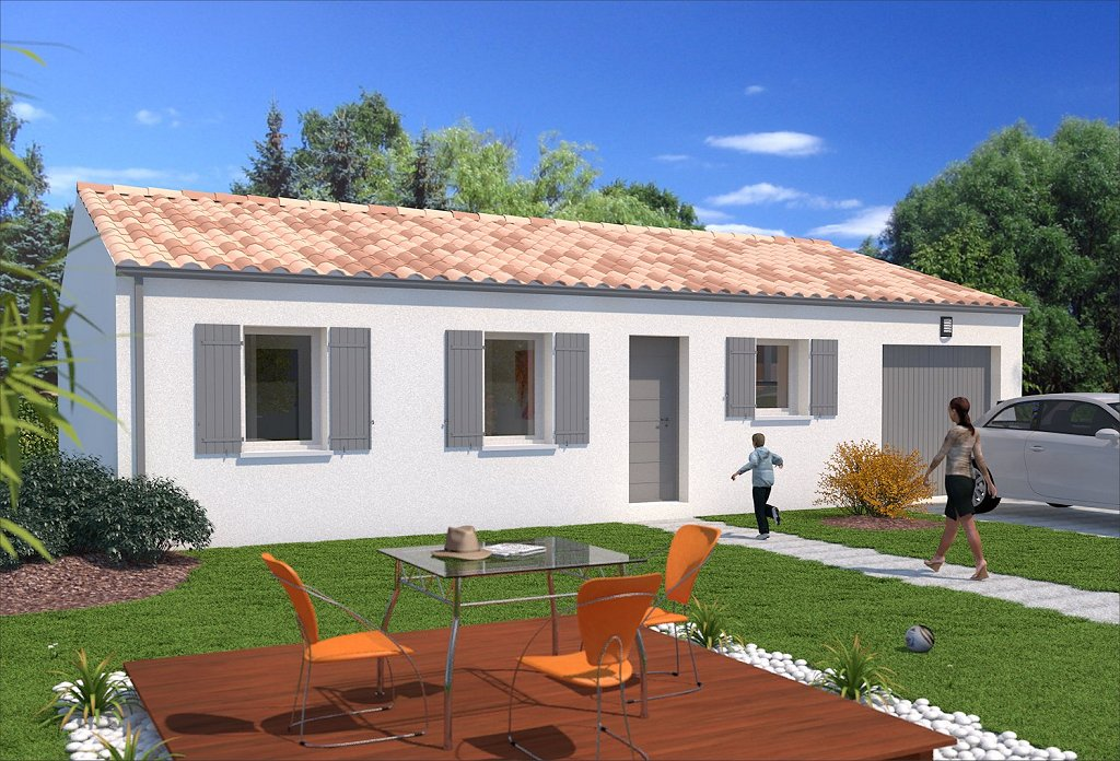 Pers maison individuelle primevere maisons lara for Jardin 90m2