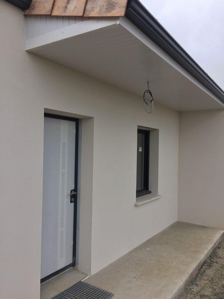 Porche D Entrée Maison Contemporaine maison plain pied - mougon - maisons lara