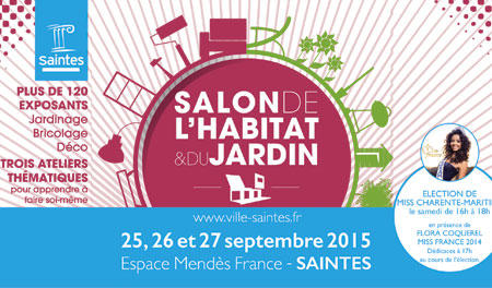 Salon de l 39 habitat saintes maisons lara for Salon habitat bordeaux