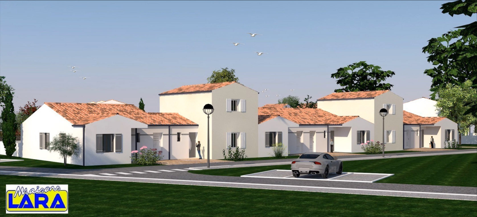Votre projet de construction angliers 17 lotissement for Projet de construction maison